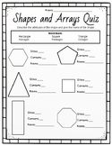 Shapes, Partitioning and Array Test