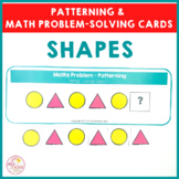 Shapes Patterning and Math Problem Solving Cards