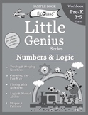 Shapes & Patterns: Numbers & Logic Worksheets for Pre-K: Little Genius Series