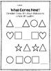 Shapes Patterns Worksheets