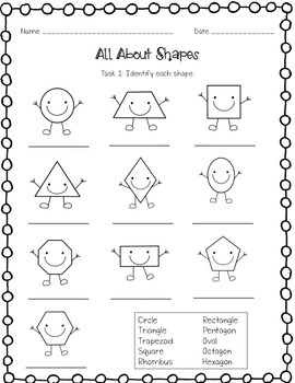 Shapes Performance Task