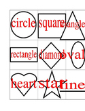 Shapes Picture Dictionary