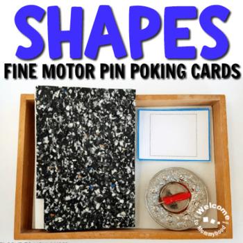 Shapes Pin Poking Printables