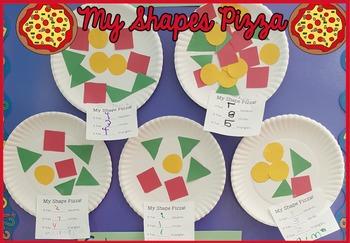 Shapes Pizza Activity - Pre-K & Kindergarten
