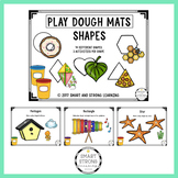 Shapes - Play Dough Mat - 14 different shapes, 3 activitie