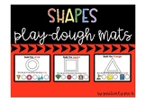 Shapes Play-Dough Mats