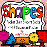 Shapes (Pocket Chart, Classroom Posters and  Book Making Activity)