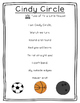 Shapes Poetry Kindergarten and First Grade