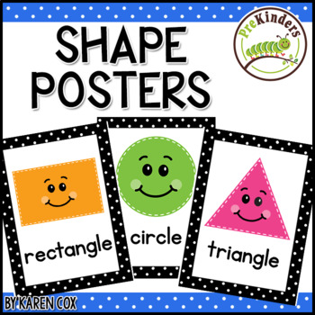 Shapes Posters | Bold Black Polka Dots