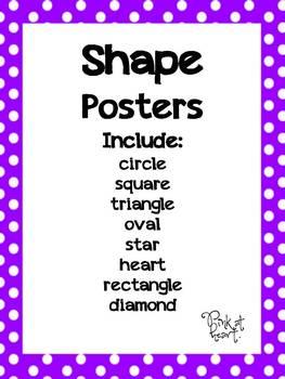 Shapes - Polka Dot Posters