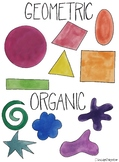 Shapes and Forms Posters