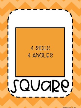Shapes Poster FREEBIE!