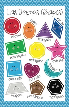 Shapes Poster (Spanish)