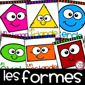 Shapes Posters in FRENCH