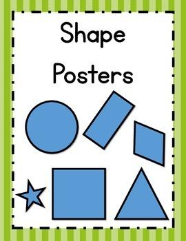 Shape Posters - English Version