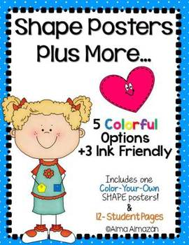 Shape Posters Plus More