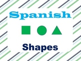 Shapes Posters:: Spanish