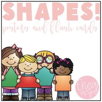 Shapes Posters and Flash Cards