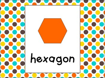 Shapes Posters in Candy Colors Theme