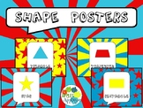Shapes Posters in Comic Book Theme