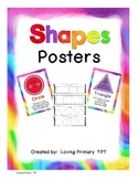 Shapes Posters with rhyming poems
