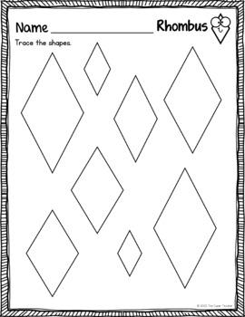 Shapes Practice Worksheets