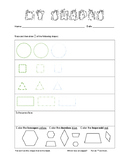 Shapes Practice and Assessment