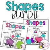 Shapes Preschool (Highscope) BUNDLE Lesson