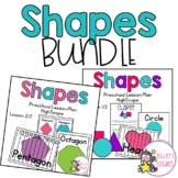 Shapes Preschool (Highscope) BUNDLE Lesson