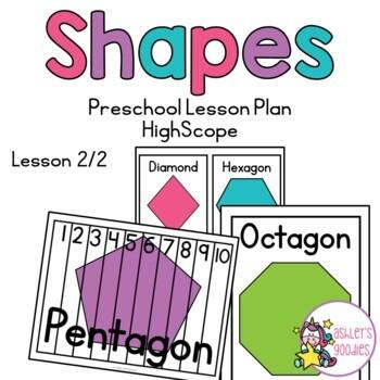 Shapes Preschool Highscope Lesson