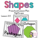 Shapes Preschool (Highscope) Lesson - Lesson 2 of 2