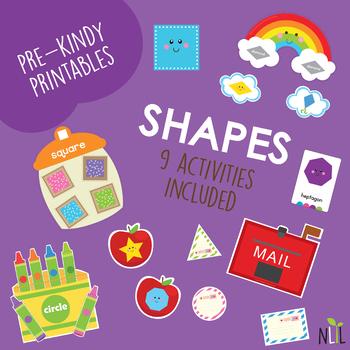 Shapes Preschool Pack