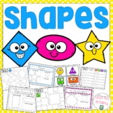 Shapes Preschool Packet