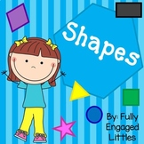 Shapes Activities-Short books, Patterns, and Matching