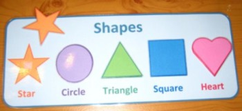 Shapes Printable Colorful Matching Game. Autism Aspergers ABA Resource ASD SEN