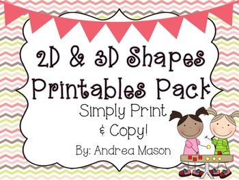 Shapes Printables
