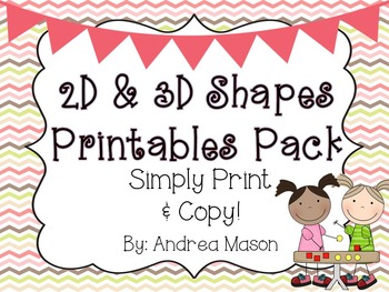 Shapes Printables