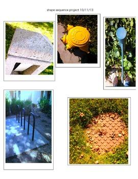 Shapes Project - Digital Photography, Grades 9, 10, 11, 12