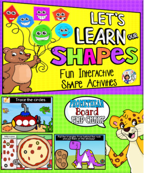 Shapes Promethean Board Flip Chart