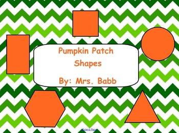 Shapes Pumpkin Patch