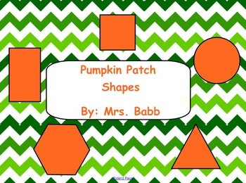 Shapes Pumpkin Patch