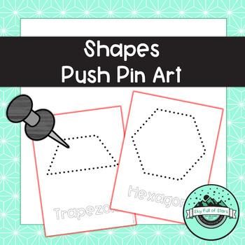Shapes Push Pin Art