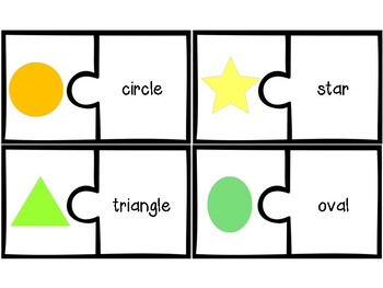Shapes: Puzzle Matching