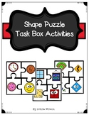 Shapes Puzzles Task Box Activity