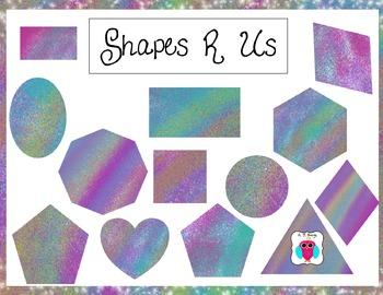 Shapes R Us Clip Art