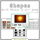 "Shapes Real Photo ""I See"" Book for Special Education Classrooms"