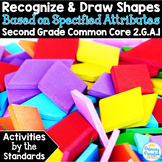 Shapes: Recognize and Draw: 2.G.A.1 Common Core Math 2nd Grade