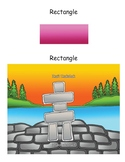 Shapes; Rectangle, First Nations, Indigenous, Aboriginal