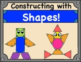 Shapes: Robot and Structure Construction with 2D Shapes!