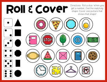 Shapes Roll and Cover